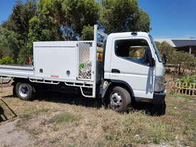 Fuso 815 Mitsubishi 2015  with tray and tool boxes - picture0' - Click to enlarge