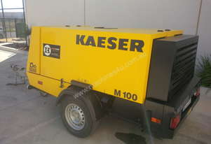 Kaeser M100 Trailer Mounted Compressor - 375CFM