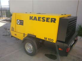 Kaeser M100 Trailer Mounted Compressor - 375CFM - picture0' - Click to enlarge