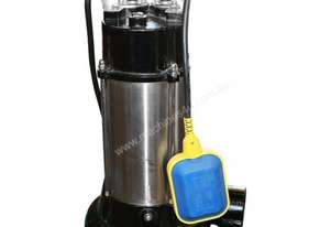 Cromtech 1100w Submersible Pump w/ Chopper Blade