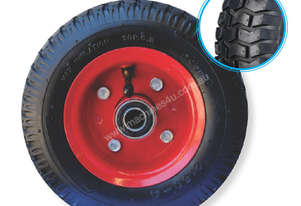 52100 - 200MM TWO PIECE STEEL RIM PNEUMATIC WHEEL