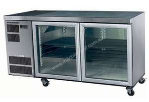 Skope CC300 Slimline Series Two Door Bench Fridge - 1600mm