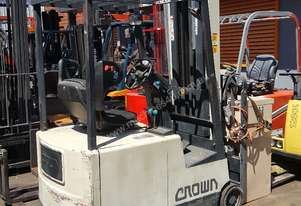 Crown 3 Wheel Electric Forklift 6100mm Lift Height