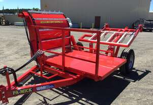 Willie's Manufacturing Pamick Bale Wagon/Feedout Hay/Forage Equip