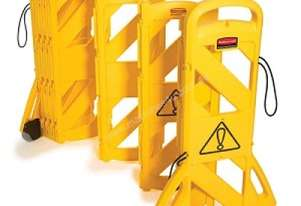 RUBBERMAID 9S11 Portable Mobile Barrier