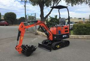 NANTE NT10 1T UNUSED MINI EXCAVATOR WITH 3 BUCKETS S/N - 627