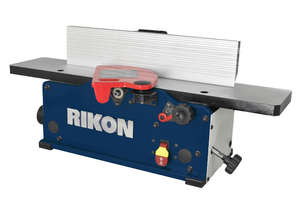 150mm 6? Benchtop Planer With Spiral Head Cutter Block 20-600H by Rikon