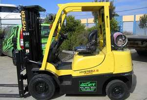 HYSTER 2.5t LPG with Container Mast