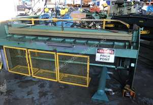 Herless Sheet Metal Guillotine 2500mm x Air Pneumatic Cutting
