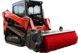 New Norm Engineering 1800mm 4-in-1 Bucket Broom Attachment to suit Skid Steer