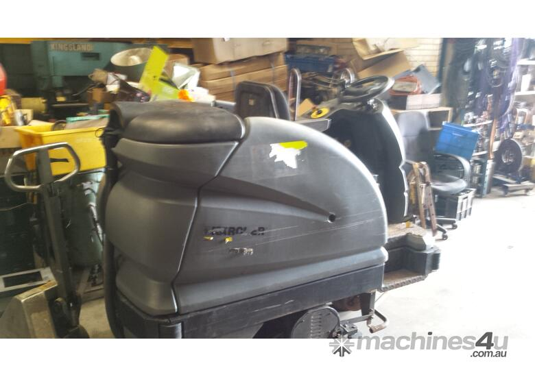 Used Karcher FLOOR SCRUBBER RIDE ON Ride On Scrubber In MALAGA WA - Used riding floor scrubber for sale
