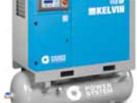 *SALE- Slight Transport Damage* Kelvin Series European Built Fully Featured Screw Compressors - picture1' - Click to enlarge