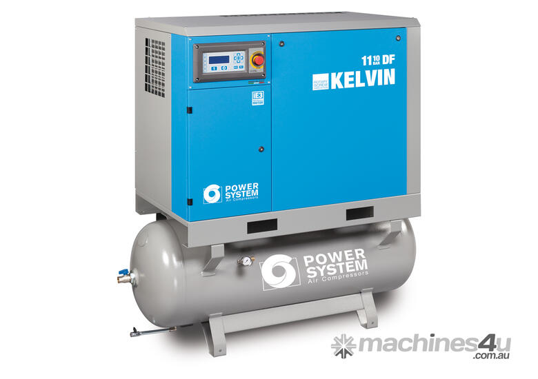 *SALE- Slight Transport Damage* Kelvin Series European Built Fully Featured Screw Compressors