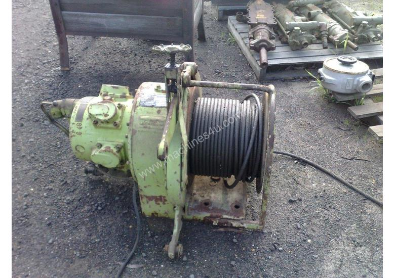 Winches, Pneumatic.