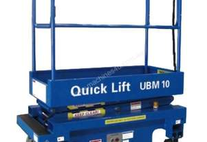 10ft Self Propelled Mini Scissor Lift