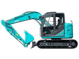 kobelco 8 Tonne Excavator with Buckets for HIRE - picture1' - Click to enlarge