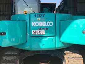 kobelco 8 Tonne Excavator with Buckets for HIRE - picture4' - Click to enlarge