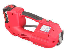 Battery Powered Hand Tool For 11 - 13mm Plastic Strap - picture1' - Click to enlarge