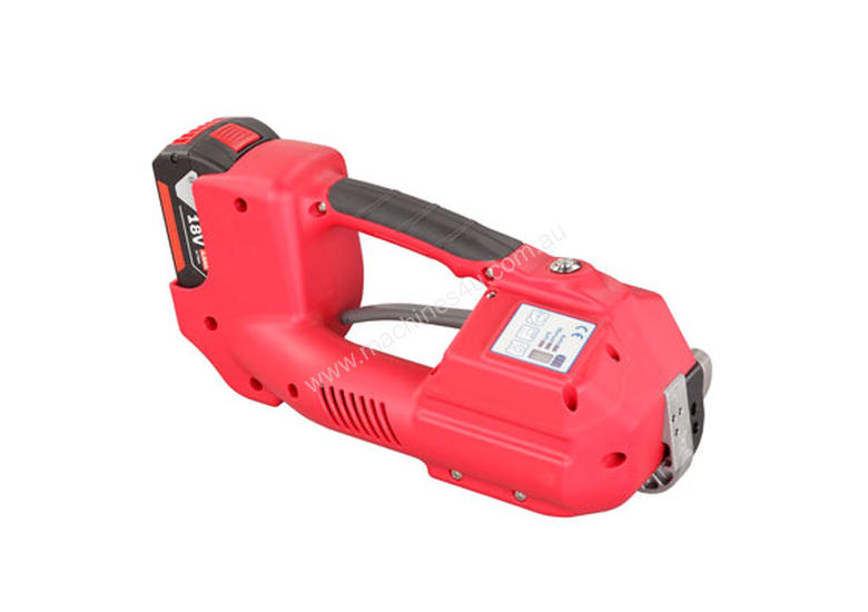 Battery Powered Hand Tool For 11 - 13mm Plastic Strap