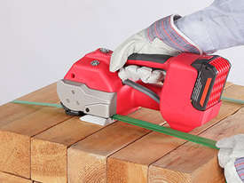Battery Powered Hand Tool For 11 - 13mm Plastic Strap - picture4' - Click to enlarge