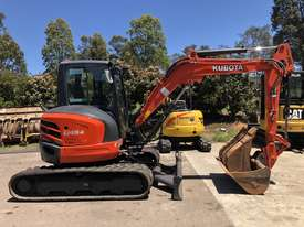 SOLD---4.8 Ton KUBOTA Excavator - picture2' - Click to enlarge