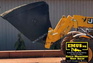 Telehandler bucket, high volume / grain. EMUS AS165A
