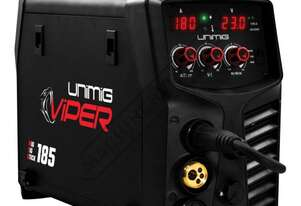 "VIPERâ""¢ 185 Multi-Function Inverter Welder-MIG-TIG-MMA #KUMJRVM185 30-180 Amps Welding Current Rang"
