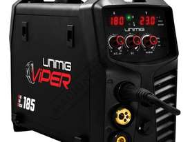 VIPER 185 Multi-Function Inverter Welder-MIG-TIG-MMA 30-180 Amps #KUMJRVWM185 - picture0' - Click to enlarge