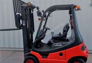 Used Forklift:  H18D Genuine Preowned Linde 1.8t
