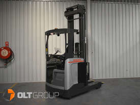 7.95m Ride Reach Truck Nissan UMS 2 Tonne Electric Warehouse Forklift Sydney High Lilft - picture4' - Click to enlarge