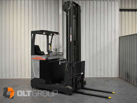 7.95m Ride Reach Truck Nissan UMS 2 Tonne Electric Warehouse Forklift Sydney High Lilft - picture5' - Click to enlarge