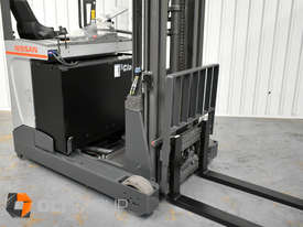 7.95m Ride Reach Truck Nissan UMS 2 Tonne Electric Warehouse Forklift Sydney High Lilft - picture7' - Click to enlarge