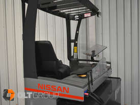 7.95m Ride Reach Truck Nissan UMS 2 Tonne Electric Warehouse Forklift Sydney High Lilft - picture8' - Click to enlarge