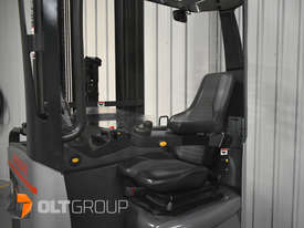7.95m Ride Reach Truck Nissan UMS 2 Tonne Electric Warehouse Forklift Sydney High Lilft - picture10' - Click to enlarge