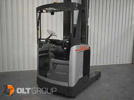 7.95m Ride Reach Truck Nissan UMS 2 Tonne Electric Warehouse Forklift Sydney High Lilft - picture12' - Click to enlarge