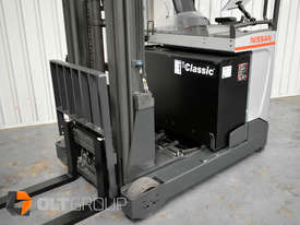 7.95m Ride Reach Truck Nissan UMS 2 Tonne Electric Warehouse Forklift Sydney High Lilft - picture15' - Click to enlarge