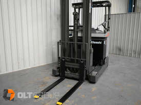 7.95m Ride Reach Truck Nissan UMS 2 Tonne Electric Warehouse Forklift Sydney High Lilft - picture16' - Click to enlarge