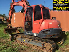 Kubota KX080-3 Excavator, 360 degree tilt hitch.  MS472 - picture0' - Click to enlarge