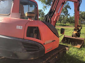 Kubota KX080-3 Excavator, 360 degree tilt hitch.  MS472 - picture2' - Click to enlarge