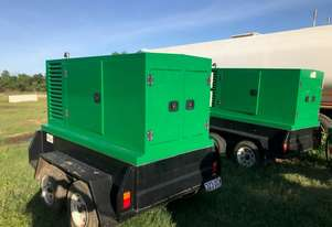 Two custom KAC 25kva Generators