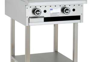 600mm Griddle with legs & shelf