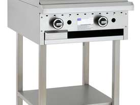 600mm Griddle with legs & shelf - picture0' - Click to enlarge