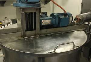 Stainless Steel Mixing Vessel 100L Steam Jacketed