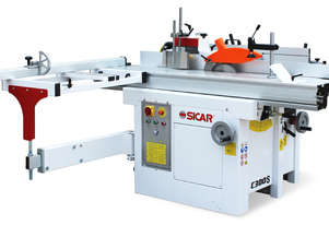 5 in 1 Combination Machine C300S by Sicar 240V