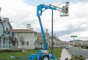 Trailer Mounted Cherry Pickers