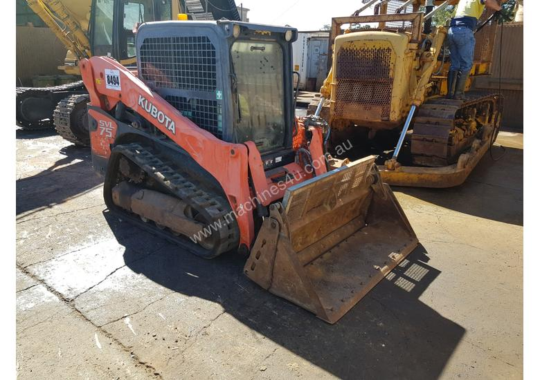 2013 Kubota SVL75 Mutli Terrain Skid Steer Loader *CONDITIONS APPLY*