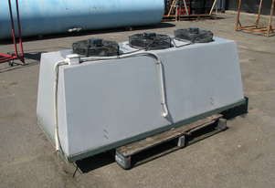 Large Canopy Triple Exhaust Fan