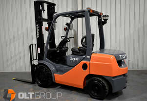 Toyota 3 Tonne Diesel Forklift 2015 Model 3961 Hours Current Model 8 Series Toyota Forklift