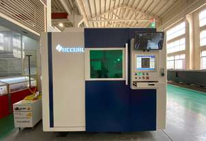 AccurlCMT SMARTLINE FIBER LASER | 2KW IPG | PRECITEC HEAD | BECKHOFF CONTROLLER | CHANGE TABLE