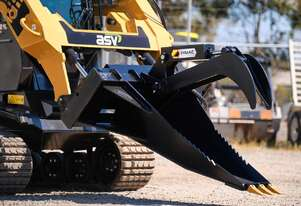 Skid Steer Stump Bucket Grapple